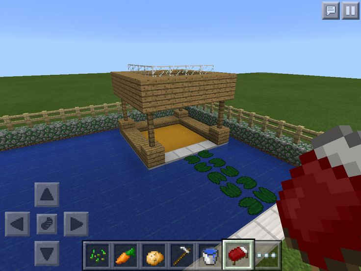 how to make a pool table in minecraft