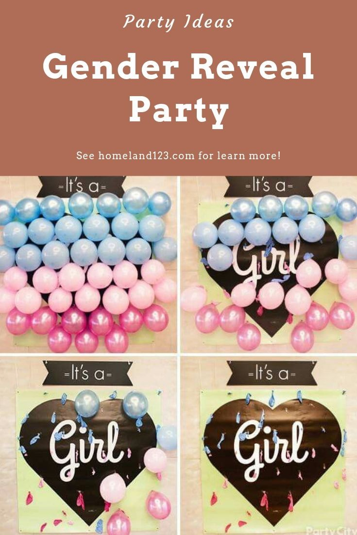 Inspiring Of Gender Reveal Party In 2020 Unique Gender Reveal Party Ideas Gender Reveal Party Reveal Parties