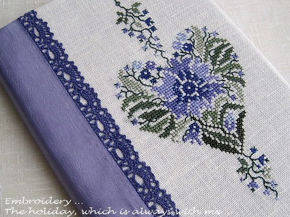 "Embroidery ... The holiday, which is always with me...: Обложка на блокнот ""Espressioni"" / Renato Parolin"