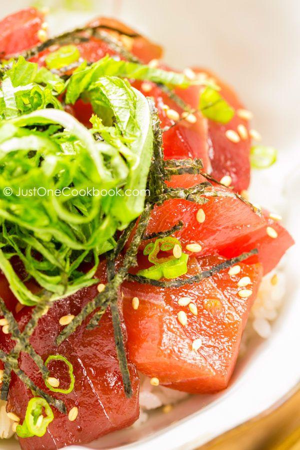 Easy Tuna Bowl (Tekkadon) | Easy Japaense Recipes at JustOneCookbook.com