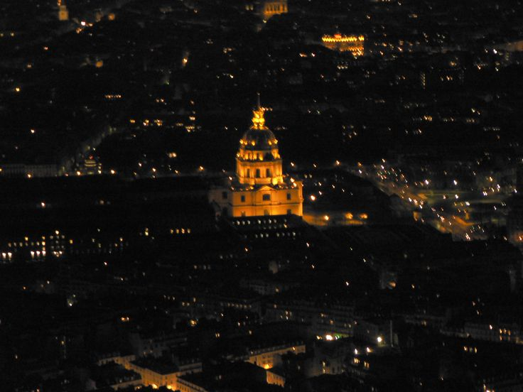 Vista de París desde su gran monumento