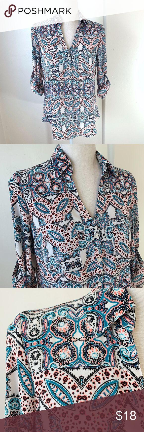 Express The Portofino Shirt Original Fit {C} Express The Portofino Shirt Origina…