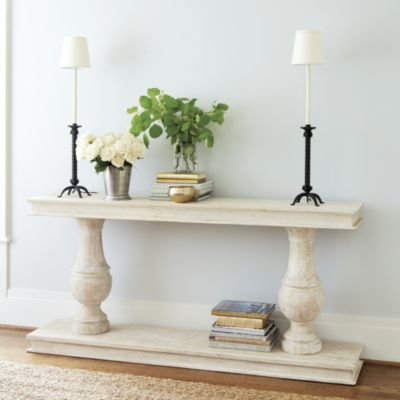 Still Loving this for you.  I've been on the hunt, trust me and so far I cannot find anything better to fit the space and give us the look we want--Andrews Serving Table | Ballard Designs