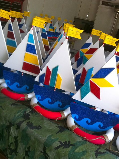 Favors at a Nautical Party #nautical #party