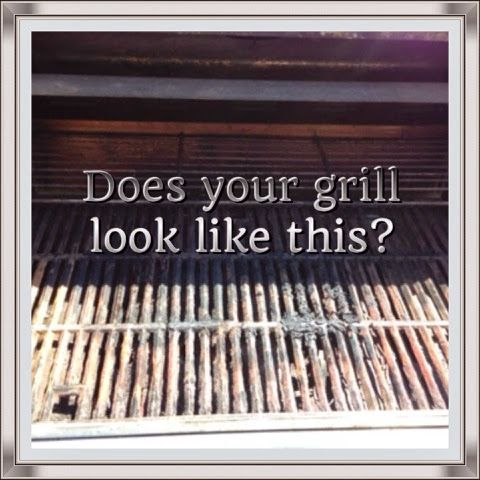 The Nifty Thrifty Family: Does your grill grates look like this?