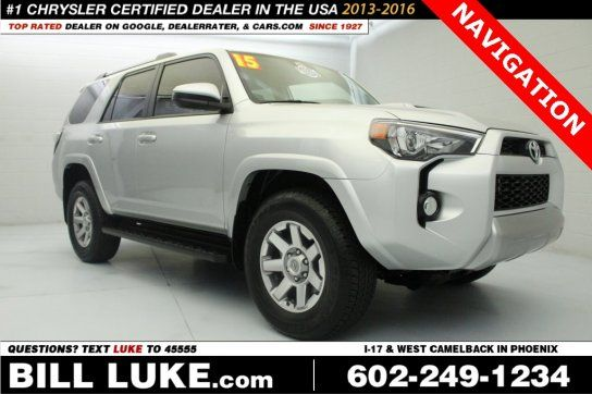 Sport Utility, 2015 Toyota 4Runner SR5 Premium with 4 Door in Phoenix, AZ (85015)