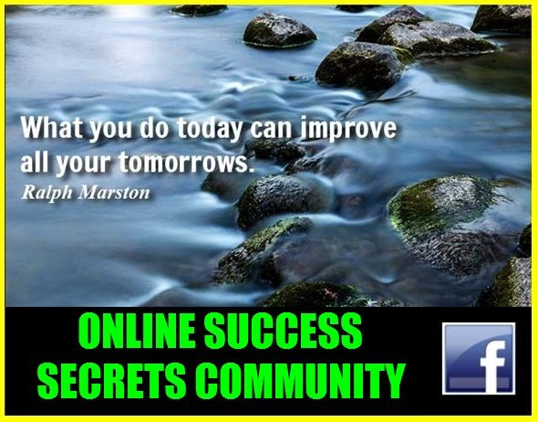 Online Success Secrets 650 Strong and growing fast.  Come on over and join the conversation...  https://www.facebook.com/groups/drewyboy