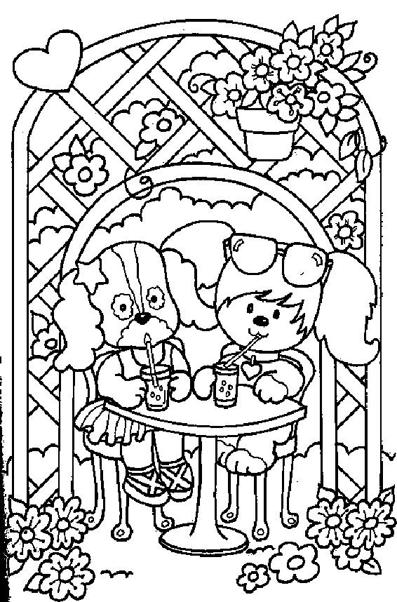 Poochie Coloring Page Unc Edu