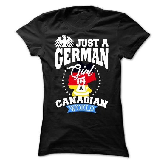 German girls in Canada - #wedding gift #gift sorprise. SAVE => https://www.sunfrog.com/LifeStyle/German-girls-in-Canada-jhiqpjbnss-Ladies.html?68278