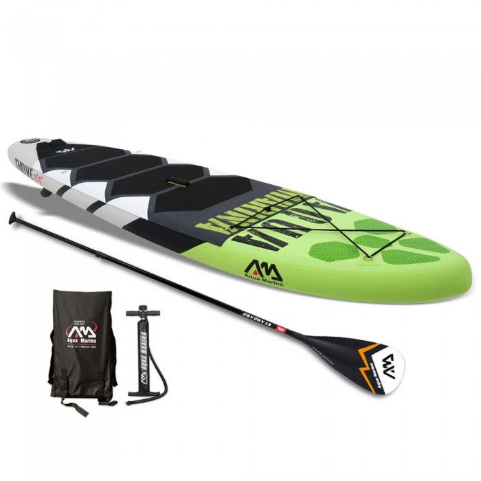 Inflatable Stand-up Paddle Board - Green