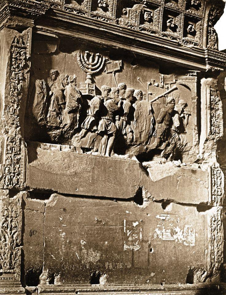 James Anderson - Bas Relief de l'Arc de Titus, ca 1853 in ...