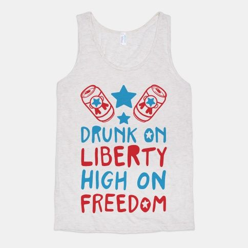 Show off your love for your country by partying hard.