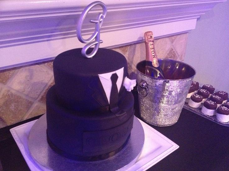 ... cake.Man Birthday, Fondant Cake, Manly 30Th Birthday Party, Birthday