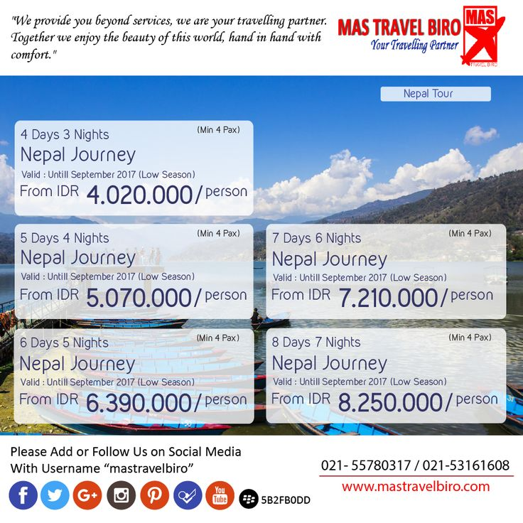 nepal journey start from IDR 4.020.000/person , Book Now !! ;) #mastravelbiro #promo #nepal #exoticdestination