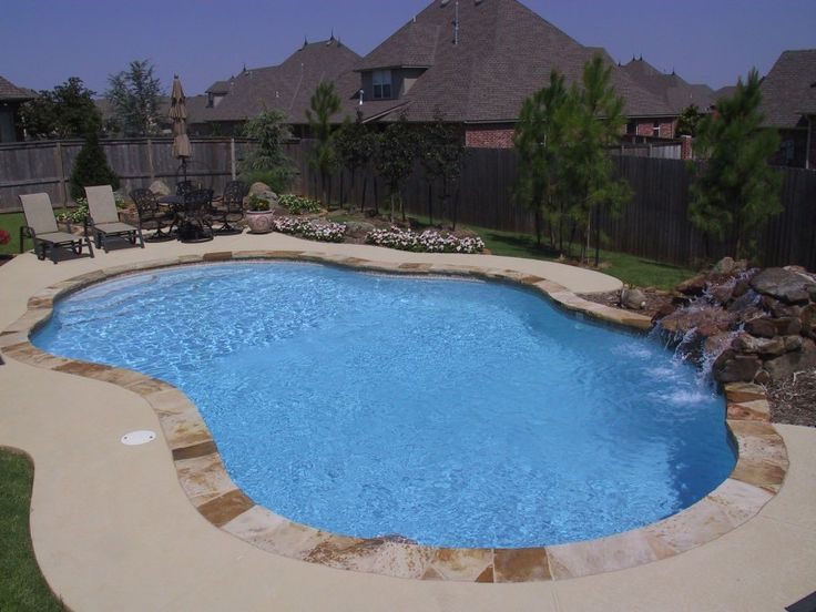 The 25 best blue haven pools ideas on pinterest for Pool design okc