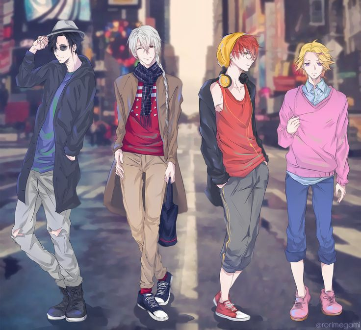 Jumin Han ZEN 707 and Yoosung street clothes