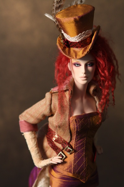 Beautifulest Steampunk Doll OMFG! You are NEVER too old for weird dolls...just the patty poo poo ones hahahahaha!