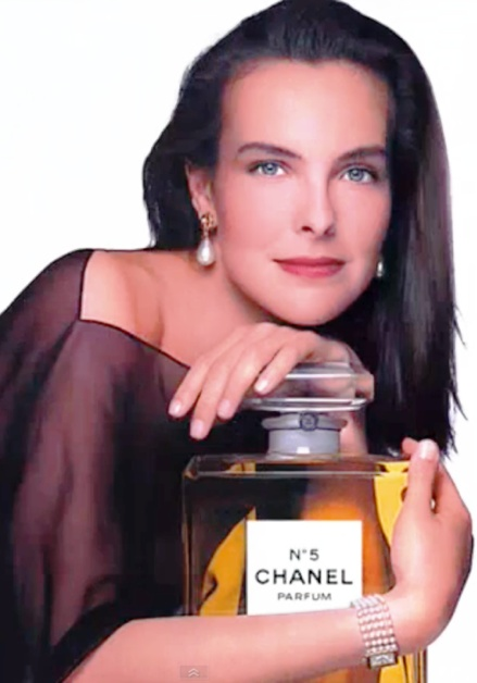 Carole Bouquet: Bond Girl, Chanel model. Tough life.
