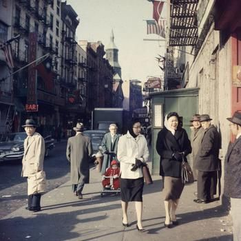 Chinatown, 1960.  Photos: New York City In The Early 1960s: Gothamist