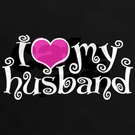 i love my husband | ... gifts aniversary womens i love my husband women s dark t shirt