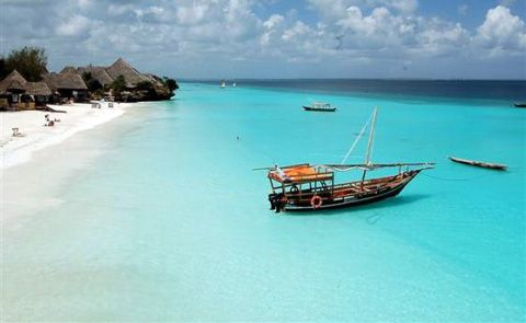 The beaches of Zanzibar. If I could go to a tropical beach for a week once a…
