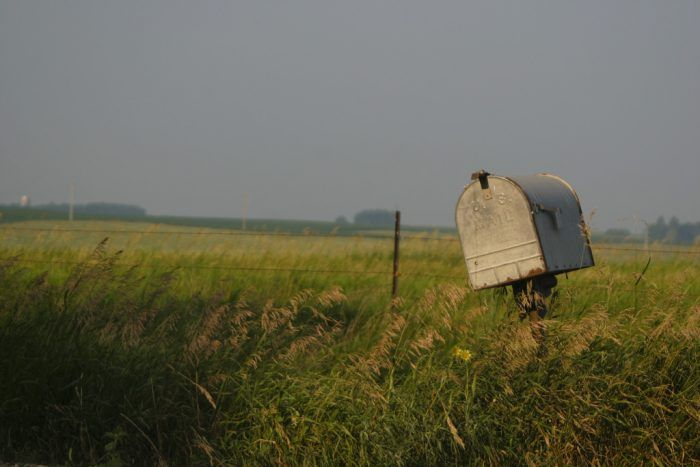 9. Pipestone has some of the most stunning rural scenery, and even an old mailbox can stir up some wonderful nostalgia.