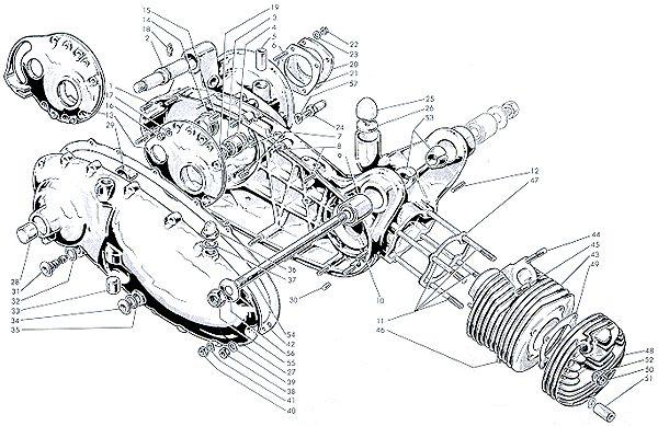 Image Result For Lambretta Technical Drawing Lambretta