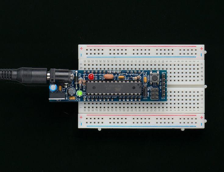 Boarduino: Solderless Breadboard Arduino Clone