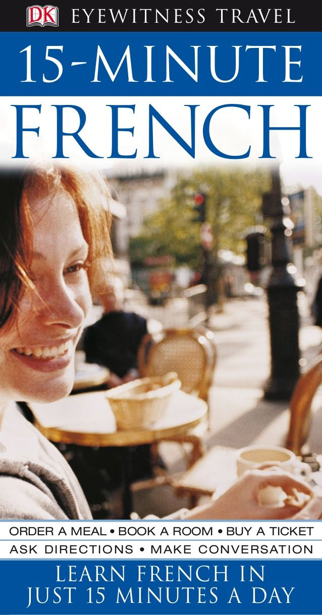 15 Minute French Travel Guides English Books Pinterest French