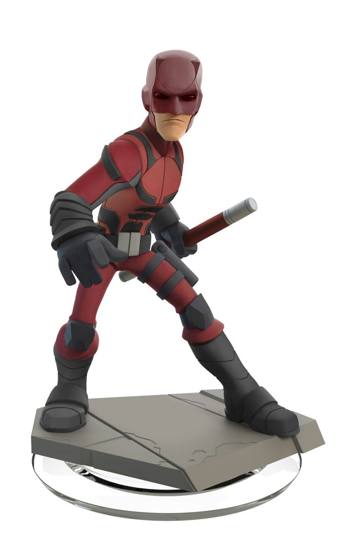 Fan-made concept for a Daredevil Disney Infinity figure