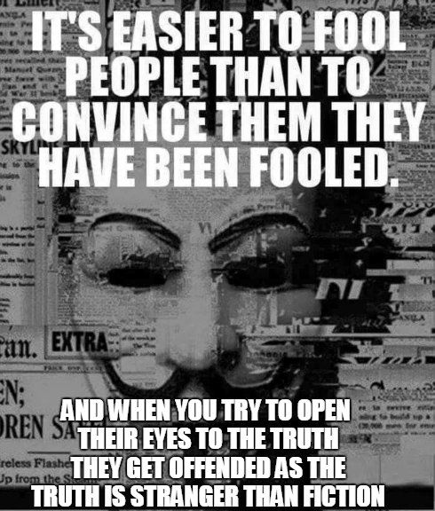 (It's because we are inherently passed information that is said to be true yet not all is, and people are told to only listen to those who have impurities... We have solutions yet they want to hold onto their beliefs because they fear they'd lose their job or not know how to live without the things they're attached to, it's a perpetual cycle of illness)