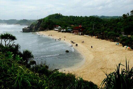 Pantai Indrayanti, Gunung Kidul, Yogyakarta ....