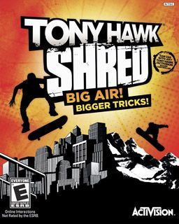 #tonyhawk Shred video game
