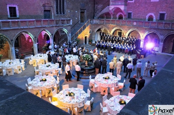 Haxel will select an attractive location for your corporate event, with unique atmosphere, like Collegium Maius