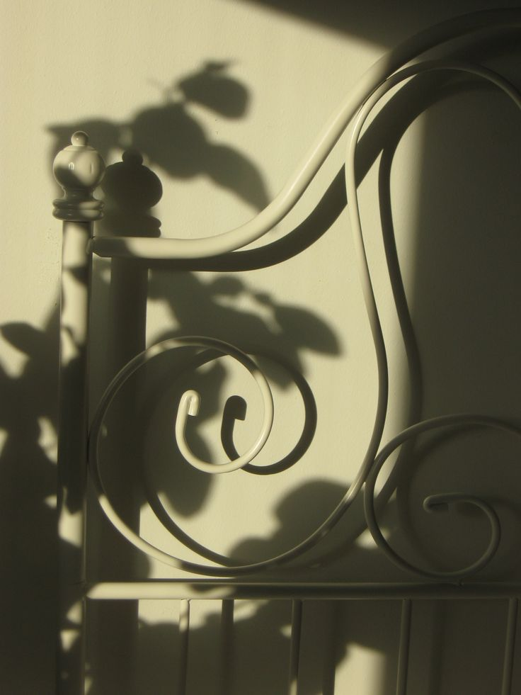 Light and shadow.
