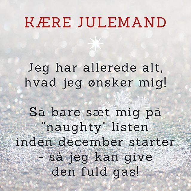 Mit brev til julemanden i år ❄️❄️❄️ #julemanden #ønske #doodlemor