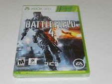Battlefield 4 Microsoft Xbox 360 Video Game New Sealed