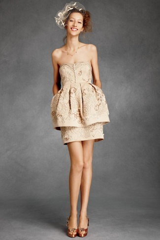 so sweet: Wedding Dressses, Fashion, Bridesmaid Dresses, Wedding Dresses, Weddings, Bhldn Filigree, Filigree Cupcake
