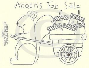 Acorns For Sale Embroidery ePattern – Chestnut Junction