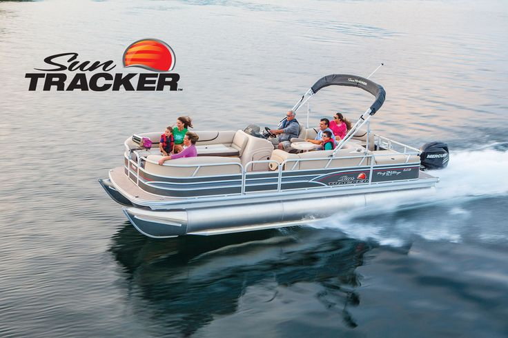NEW 2015 Sun Tracker® Party Barge 24 XP3 | Exclusive Auto Marine #SunTracker #pontoon #boating