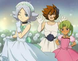 Las princesas inazumaa