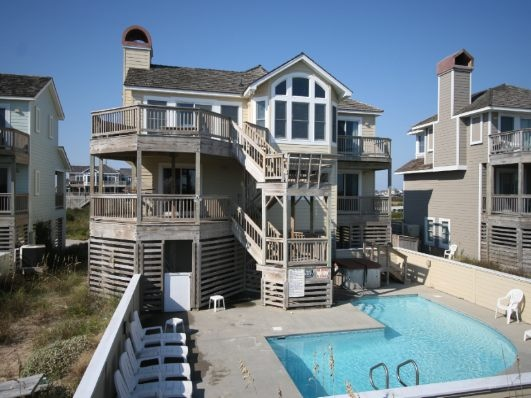 Dare To Dream Rental Bh8s Nags Head Nc Oceanfront Rental