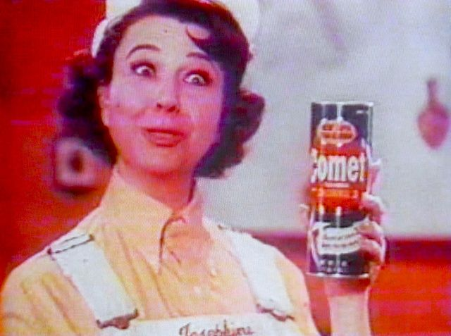 1960s Comet Cleanser JOSEPHINE THE PLUMBER Vintage Advertisement Commercial Still by Christian Montone, via Flickr