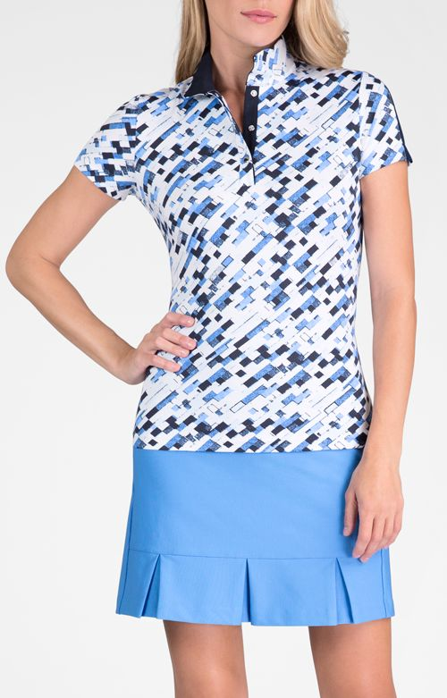 Amy Top - Modern Oasis for Golf - Women's Golf Apparel - Tail Activewear