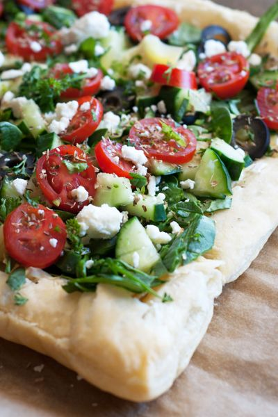 Greek Islands Style Puff Pastry _ Lightly adapted from the pampered chef   Meals Full Of Color