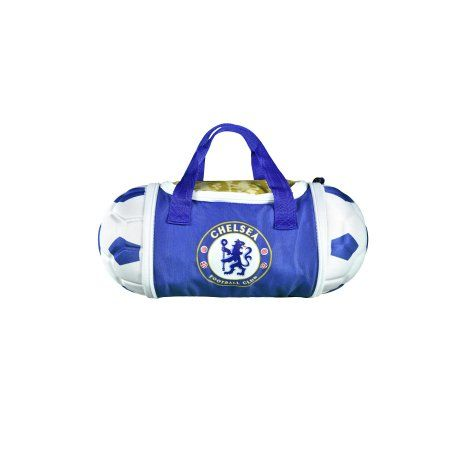 Chelsea Soccer Ball Lunch Bag, White