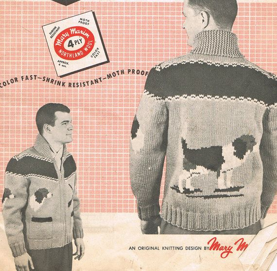 PDF Knitting Pattern Beagle Dog Vintage by BusyBeaverBoutique, $3.50