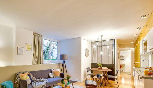 Appartement Aux Teintes Douces Qui Inspirent La Tranquillité Futuriste