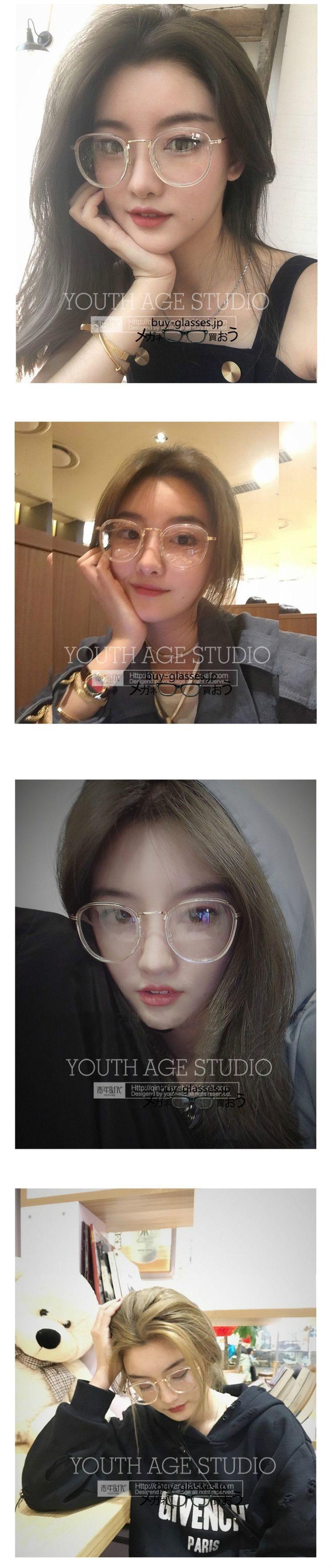 メガネ2018最新トレンド韓国人気2018年トレンド眼鏡 デザイン女性
