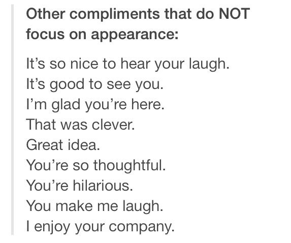 Good Compliments To Say To A Girl